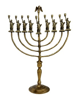 Statue of Liberty Hanukkah Lamp, 1986