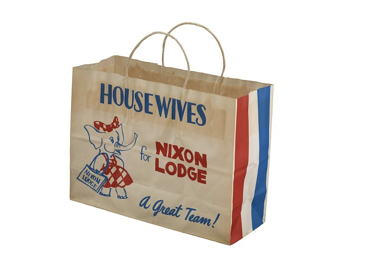 Campaign Shopping Bag, 1960