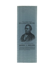 Fillmore Campaign Ribbon, 1856