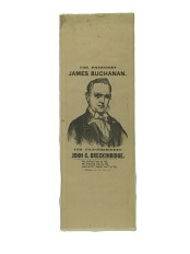 Buchanan Campaign Ribbon, 1856