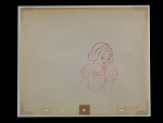 Production drawing of Snow White from Snow White