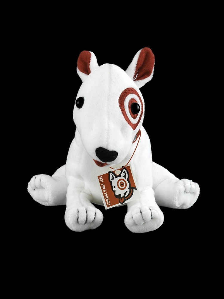 Target Dog Plush Toy Description