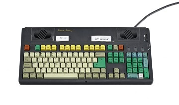 Bill Gross' Bloomberg Keyboard