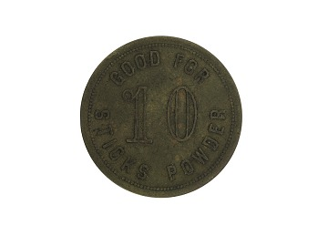 Mohrland Mercantile Company Powder Token