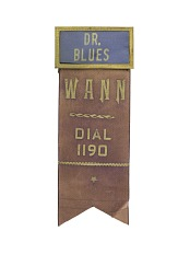 """Dr. Blues"" Name Tag"