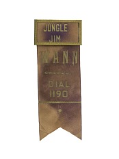"""Jungle Jim"" Name Tag"