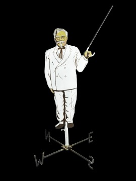 Colonel Sanders Weathervane