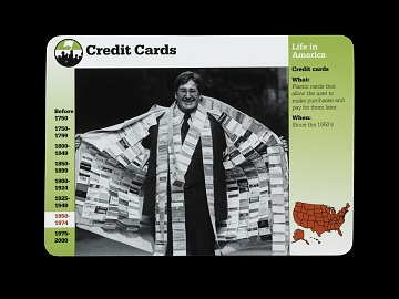Grolier's Life in America: Credit Card