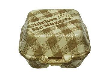 McDonald's Clam Shell Container