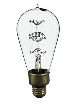 Mill-type Incandescent Lamp