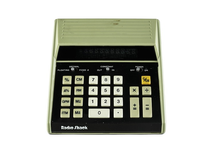 Radio Shack EC-2001 Desktop Electronic calculator