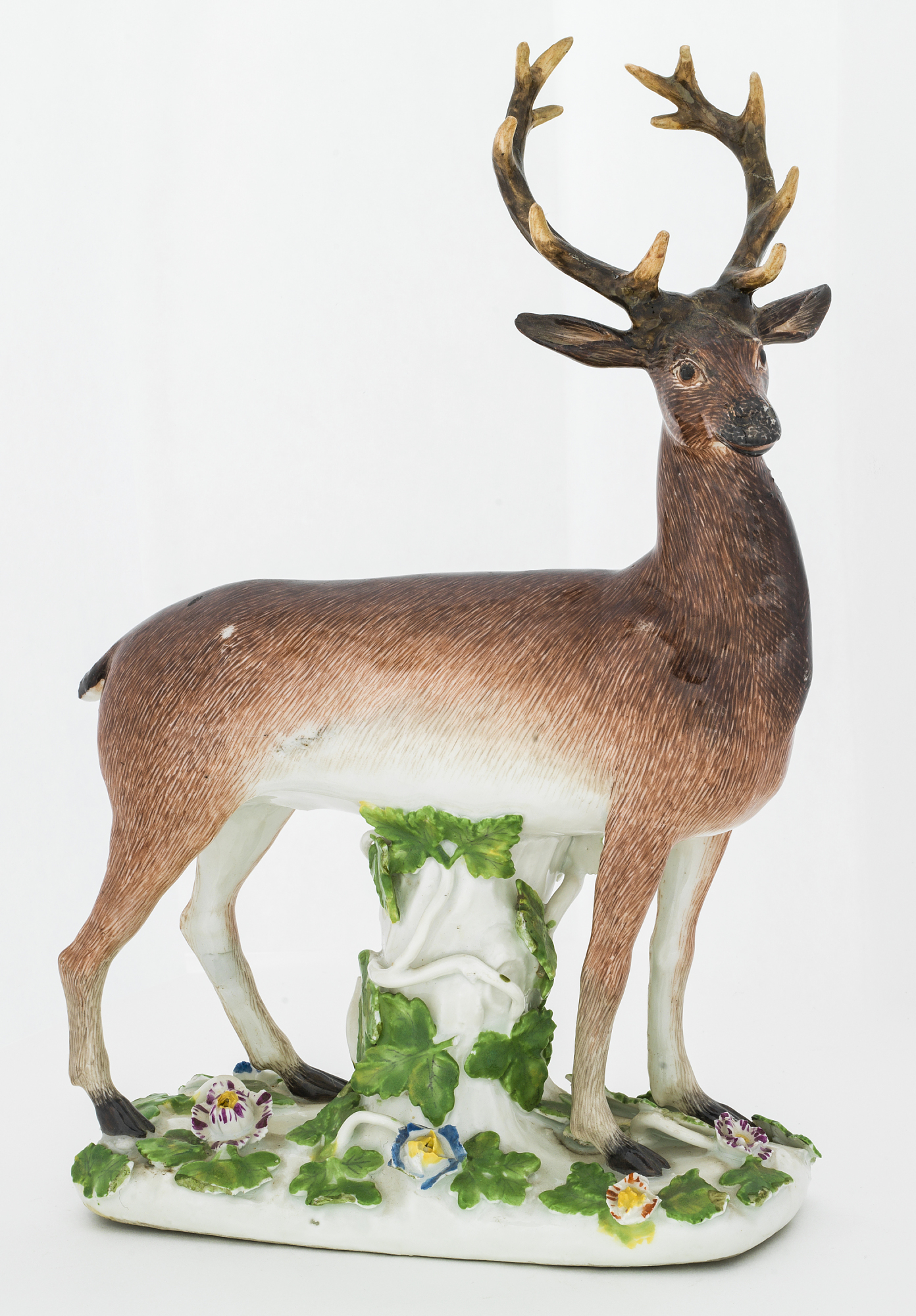 Meissen figure of a stag
