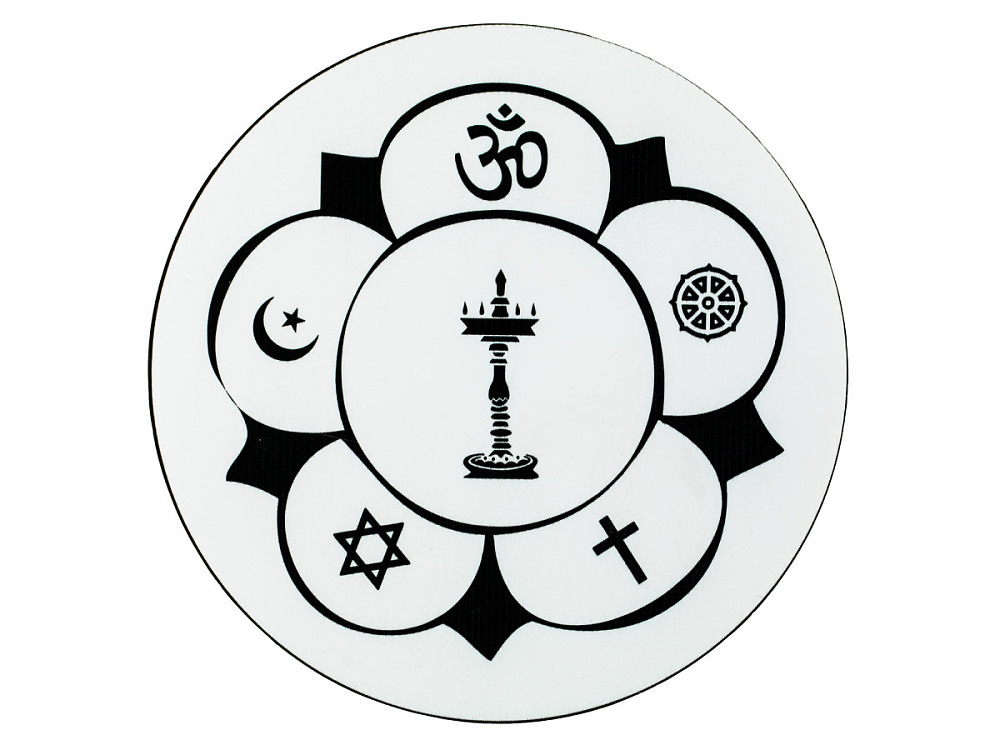 Ecumenical Symbol For The Hindu Temple Society Of North America