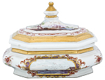 Meissen sugar box and cover