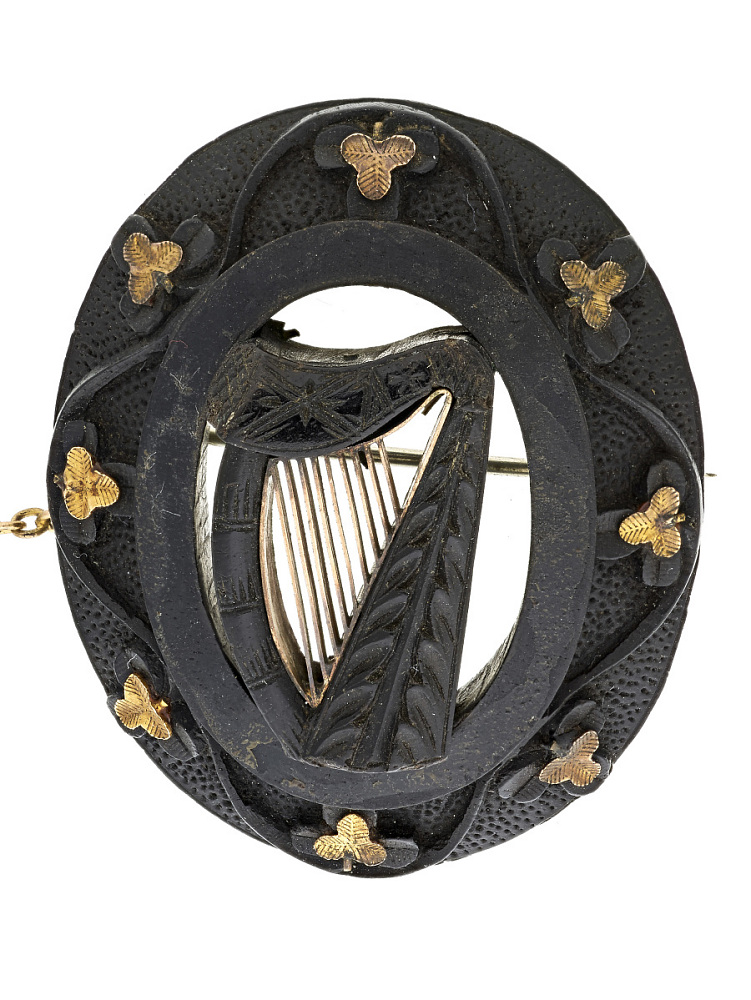 4a213823f Irish Brooch, 1800s | National Museum of American History