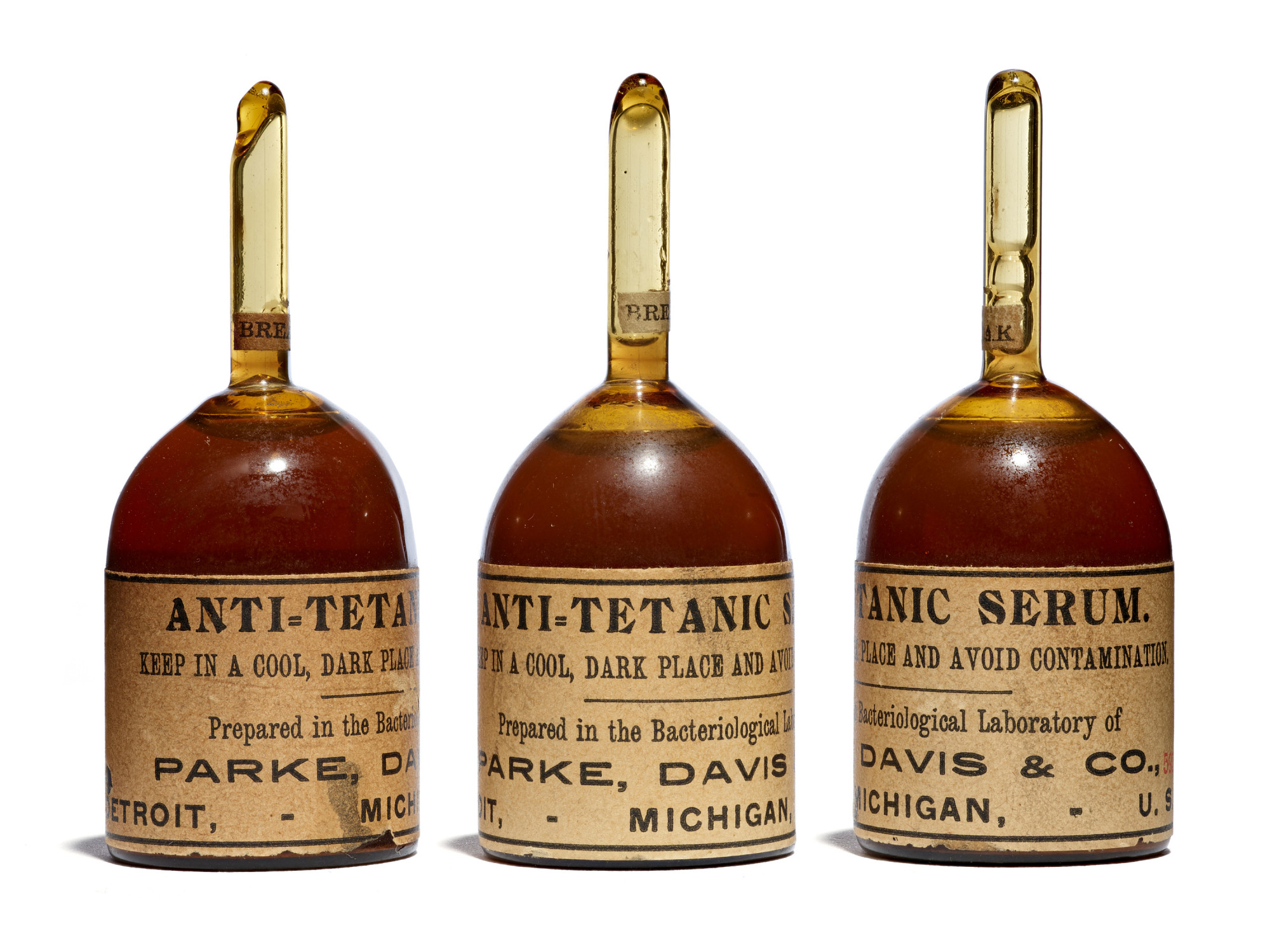 Anti-Tetanic Serum, 1898