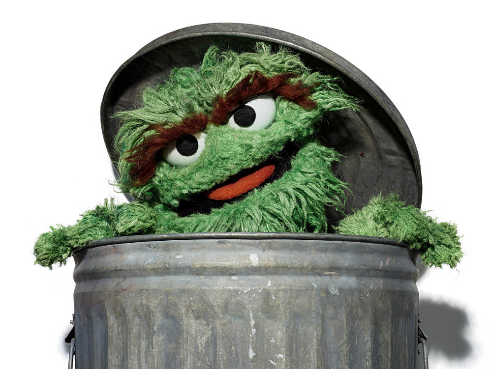 Oscar The Grouch Puppet National Museum Of American History