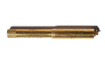 Pen used to sign the Woman Suffrage Joint Resolution, 1919
