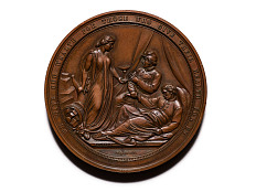 Great Central Fair, U.S. Sanitary Commission medal, United States, 1864