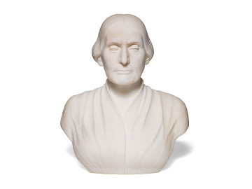 Bust of Susan B. Anthony by Adelaide Johnson, 1890s
