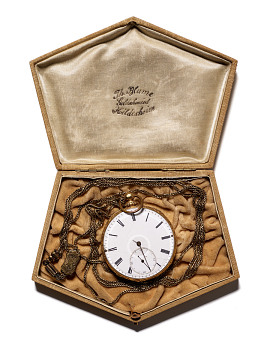 Watch purchased by Susan B. Anthony with money from her first paycheck, around 1838