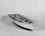View Boat Model, Bushwhack Boat, mid-20th Century digital asset number 2