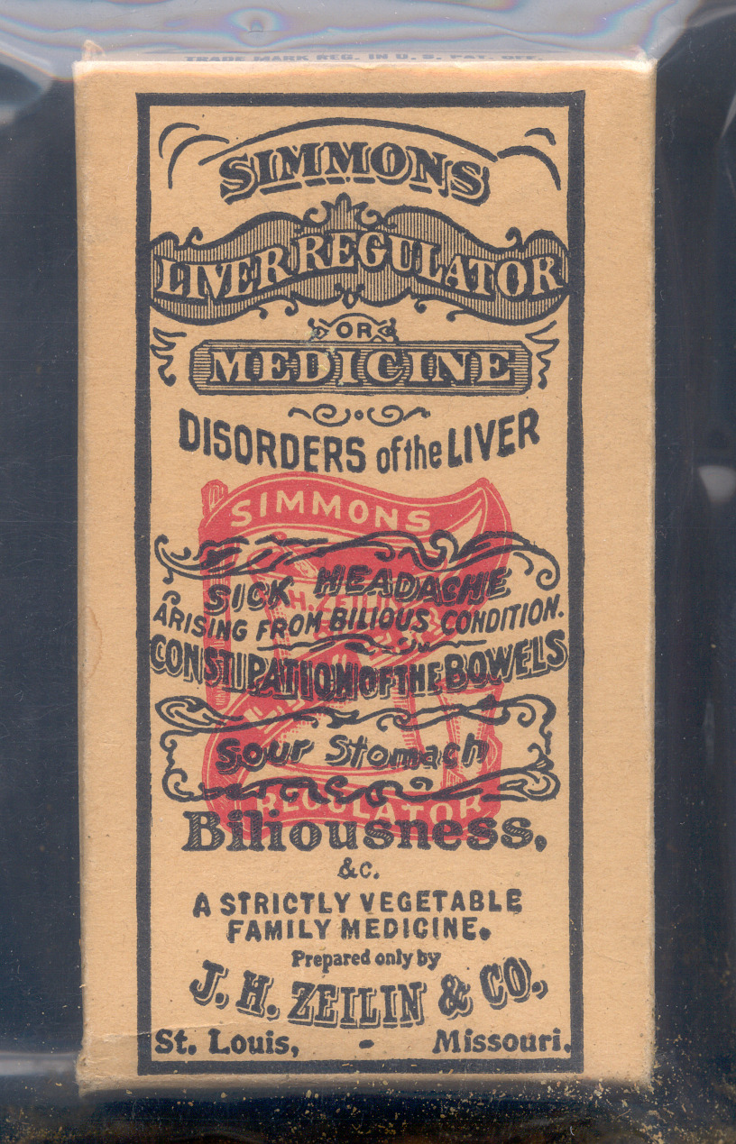 Simmons Liver Regulator or Medicine