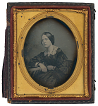 Daguerreotype of Mary Ann Warren