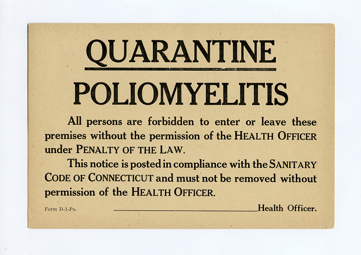 Quarantine Sign
