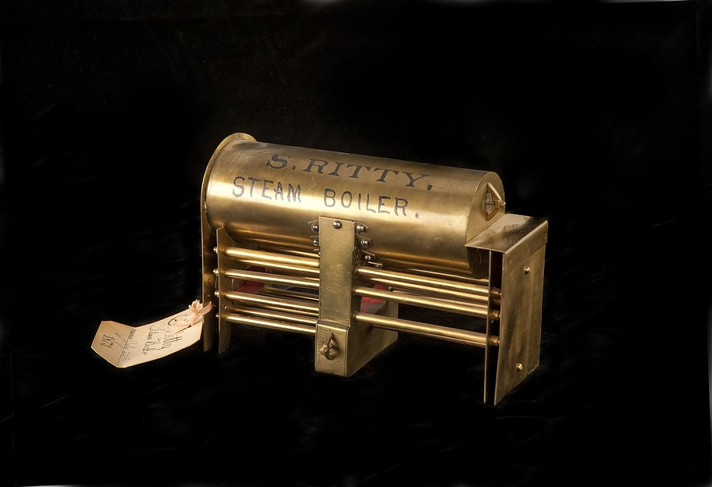 Ritty Steam Boiler, Patent Model | National Museum of American History