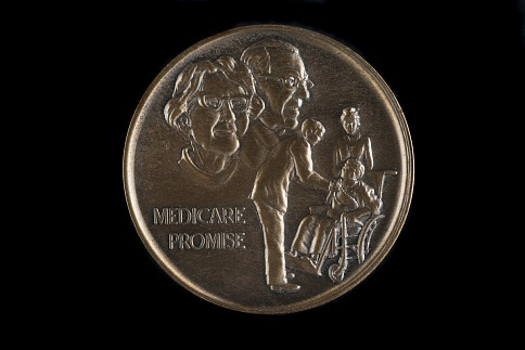 Kennedy Medicare Promise Commemorative Medal