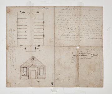 School Plan, Braintree, Massachusetts, 1810
