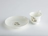 White Porcelain saucer from National Museum of American History ... See More