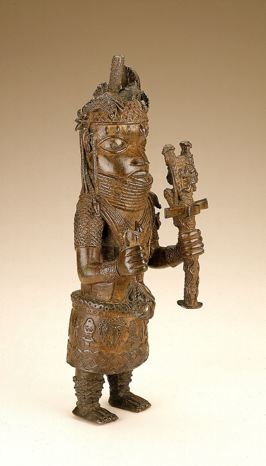 Figure of a king