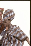 View Young woman with elaborate headdress, Mali, [slide] digital asset number 1
