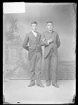 Llewn Lears and Alb Anderson, Carlisle Students 1879