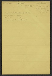 Truman Michelson notes on Hidatsa language, 1912 January 24