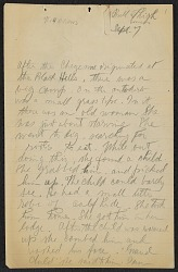 Texts and notes on Medicine arrows of the Cheyenne from Bull Thigh and William Somers, 1910 September 7-13