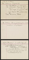 Truman Michelson notes on phonetic correspondences of Cheyenne with other Algonquian languages, circa 1931-1932