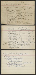 Cheyenne vocabulary and a few ethnological notes collected from Mack Haag, undated