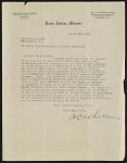 Truman Michelson correspondence and notes 1928-1938