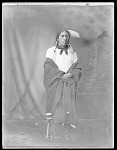 Full length, front view, Indian 1904