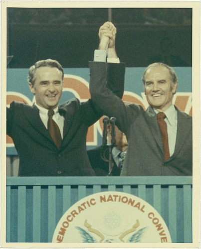 George McGovern and Thomas Eagleton