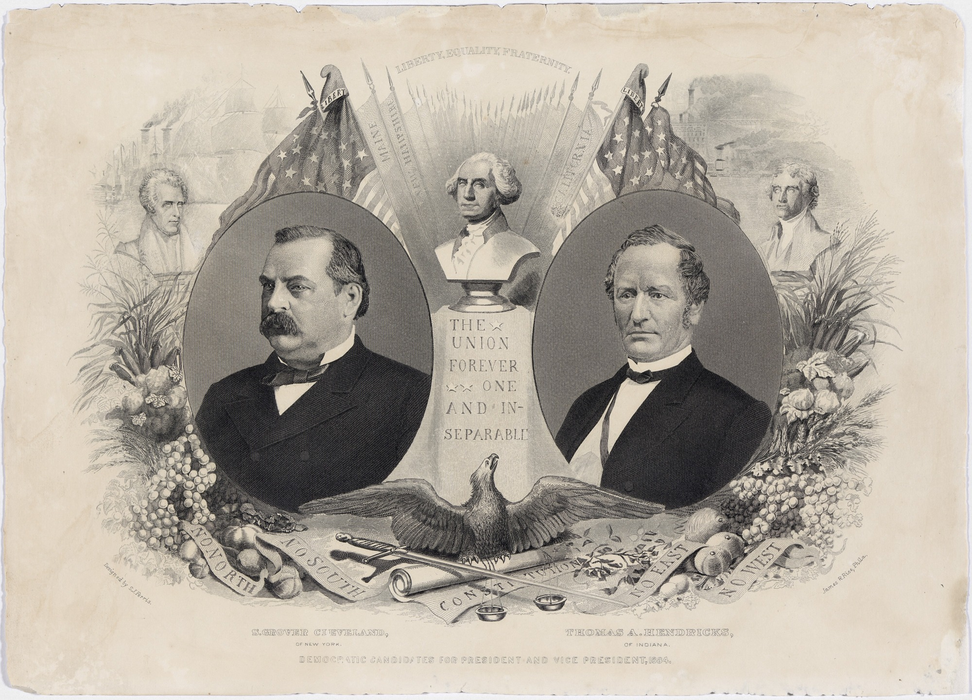 Democratic Candidates for President and Vice President, 1884