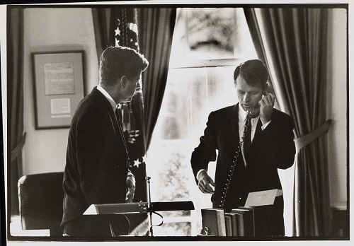 John F. Kennedy and Robert F. Kennedy