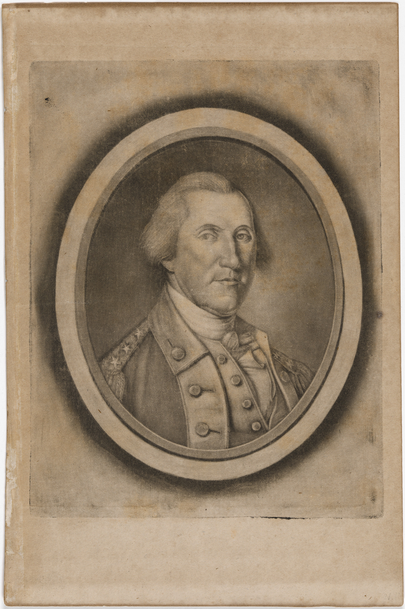 His Excel: G: WASHINGTON Esq: L.L.D. Late Commander in Chief of the ARMIES of the U.S. of AMERICA & PRESIDENT of the CONVENTION of 1787