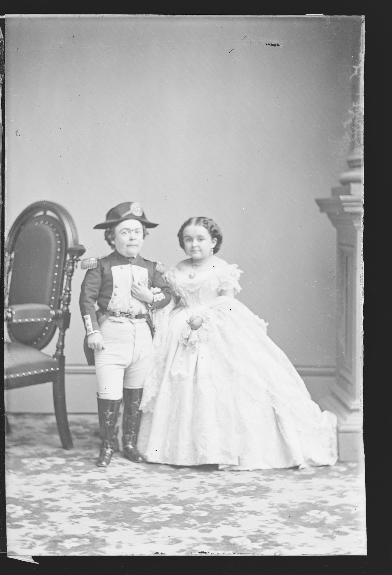 Charles and Lavinia Stratton