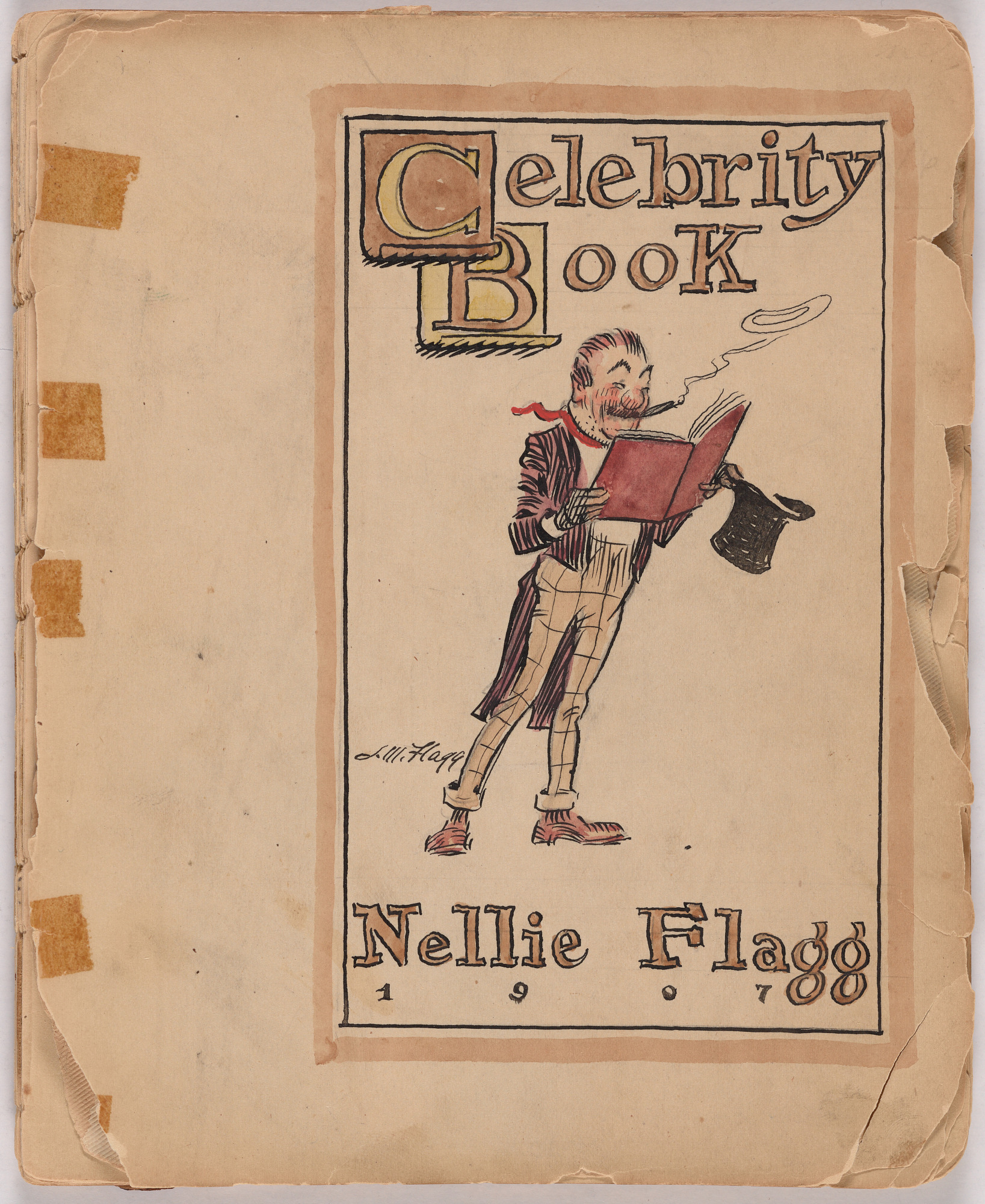 Celebrity Book of Nellie Flagg