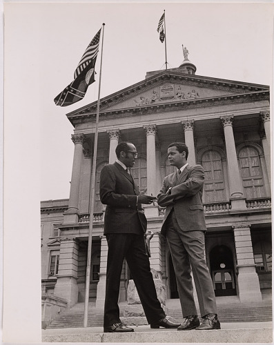 Julian Bond (with Leroy Johnson)
