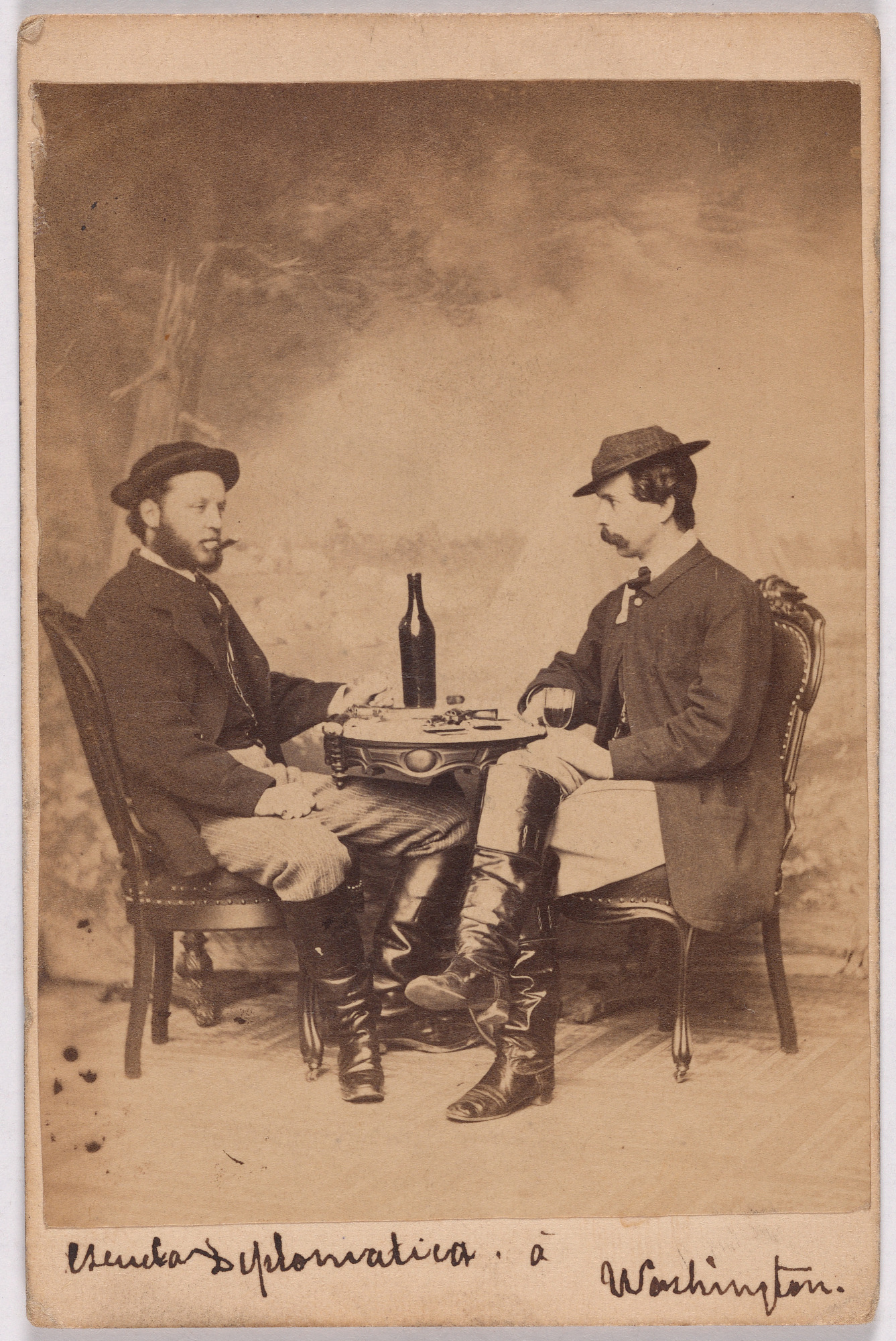 Two war photographers (or correspondents)